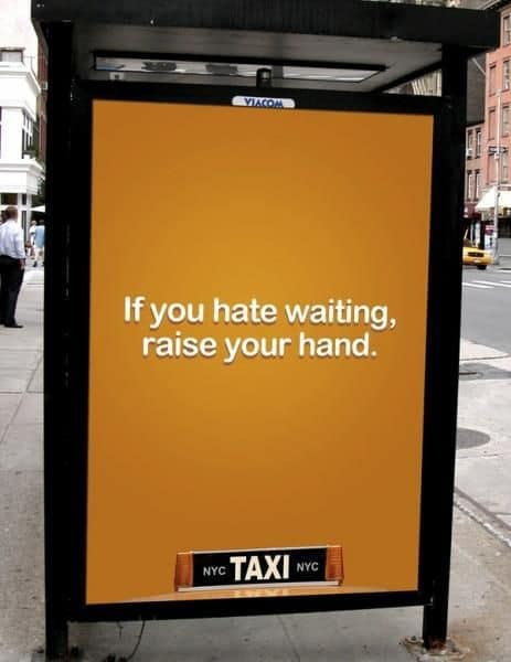 NYC Taxi - Raise Your Hand - FogPusher