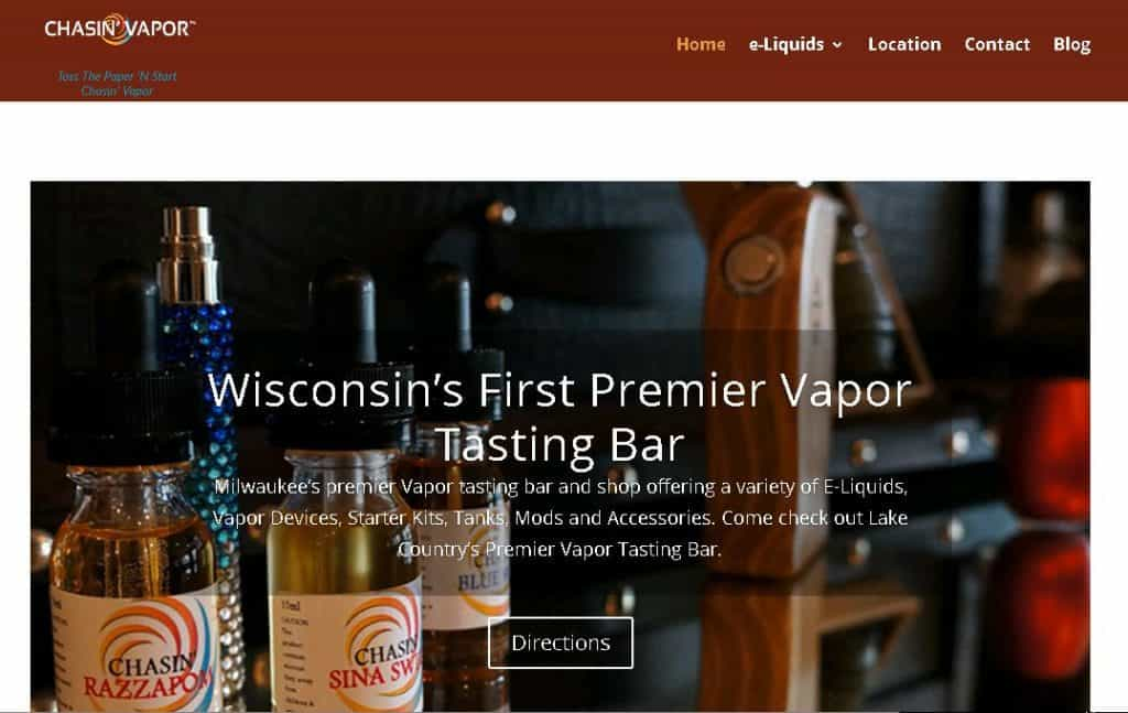 Chasin' Vapor: Milwaukee, WI Vape Shop