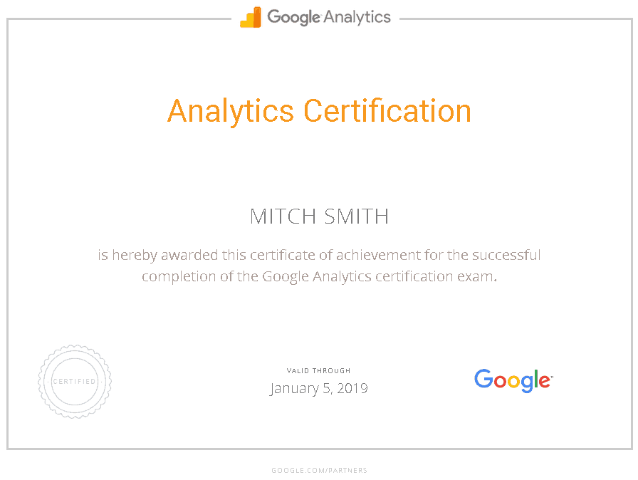 Google_Analytics_Certification_Mitch_Smith