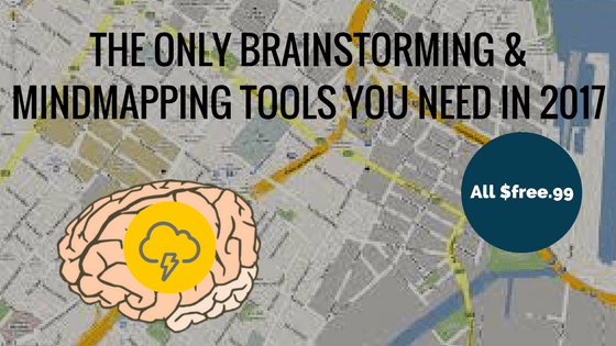 The Only Brainstorming / Mind Mapping Tools You Need in 2018 (Free)